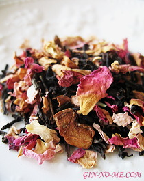 デカフェ バラの紅茶