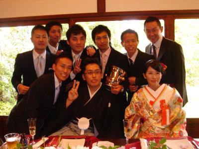 岡P結婚式