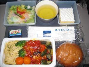 機内食美味しかった~♪