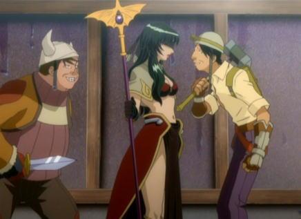 このアニメがもっと有名だったら薄い本がたくさん出ていただろうに・・・