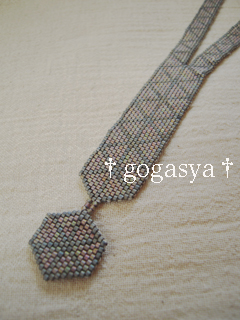 11016三角模様のネックレス-2