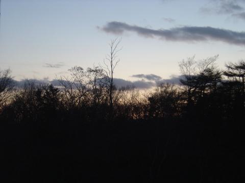 職場地方の黄昏(2009.12.10)