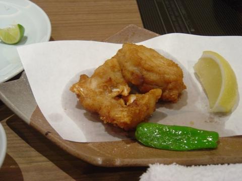 ふぐのから揚げ(2009.12.22)