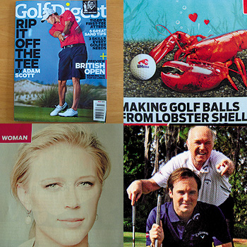 Golf Digest 最新号のDigest!