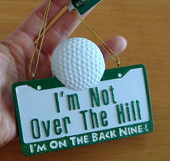 ゴルフ!プレート