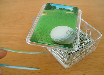 ゴルフコース柄スキンの活用例