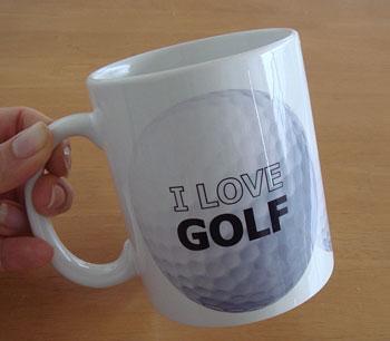 ゴルフボールマグカップ