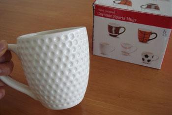 ディンプル マグカップ