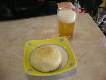 ビールおやき
