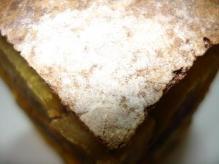 南瓜さつま芋栗クリーム粒餡クリチミルフィーユ断面