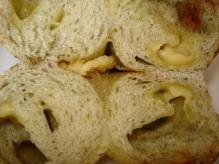 青海苔チーズ断面