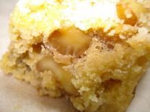 パルメザンチーズケーキ断面