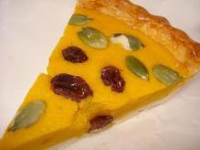 南瓜チーズケーキ