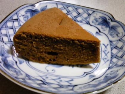 チョコの蒸しケーキ7