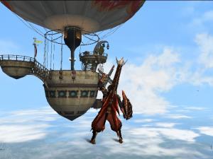 空中浮遊3(気球)