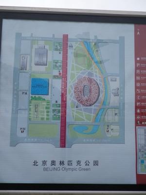 オリンピック公園見取り図