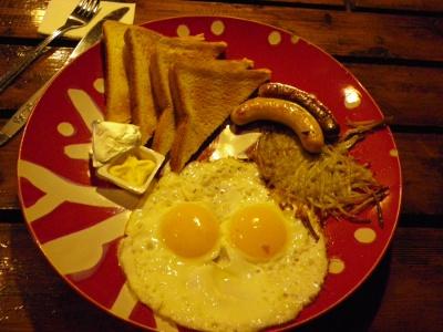 ユースの朝ごはん