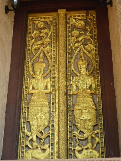 ワット・ポー・パケオの扉