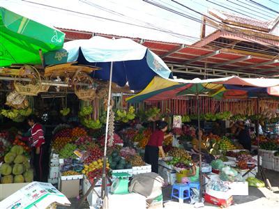 シュムリアップ市場1