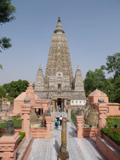 ブッダガヤ、マハーボディ寺院