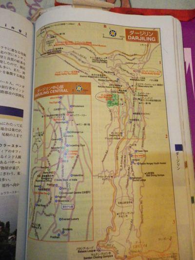 ダージリン地図
