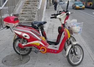 レトロなバイク
