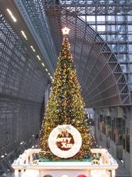 京都駅ビル クリスマスツリー