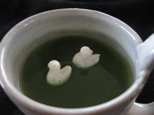 におの浮き巣 抹茶