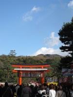 吉田神社 鳥居