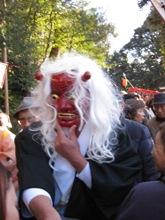 吉田神社 節分 赤福鬼