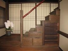 一の傳 階段