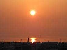 夕陽 観音寺