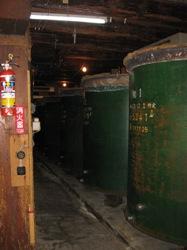 佐々木酒造 蔵 タンク