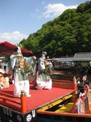 三船祭 舞