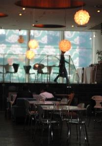 スーホルムカフェ 照明