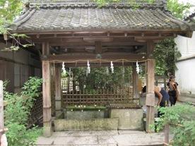 梨木神社 井戸