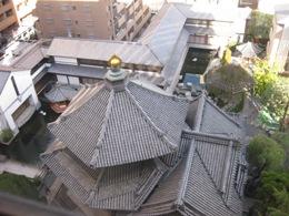 六角堂屋根