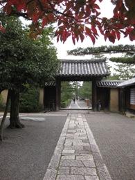 大徳寺本坊門