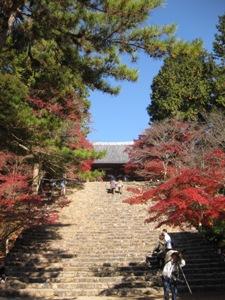 神護寺境内階段