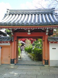 栄摂院 門