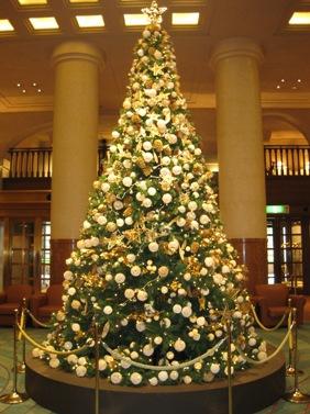 ホテルオークラ京都 クリスマスツリー