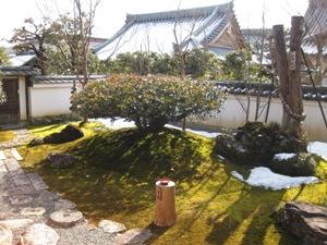 沙羅双樹の庭