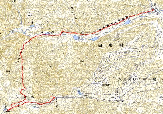 20100110_白馬ガラガラ沢BCトラックデータ