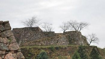 竹田城上石垣