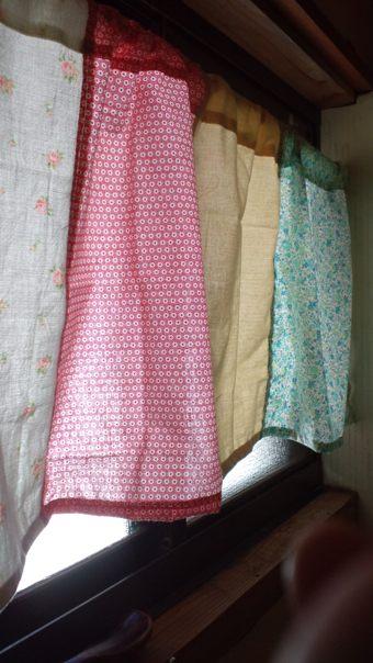 洗面所カーテン