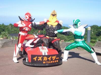 ウツボ怪人vs伊豆のヒーローズ