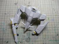 1/72 VF-1J バトロイドバルキリー 製作中!