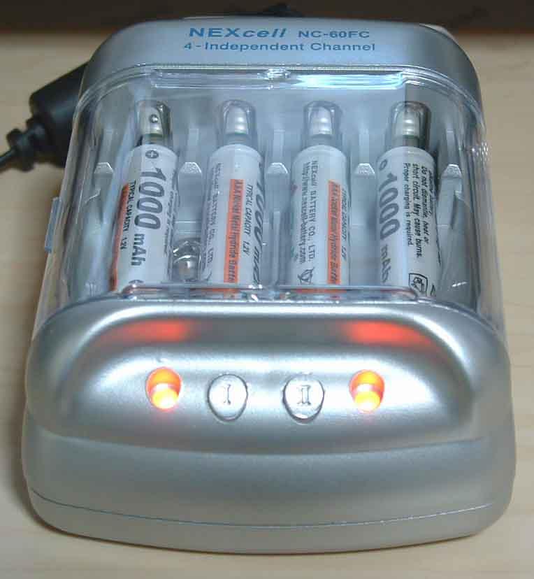ネクセル充電器NC-60FC