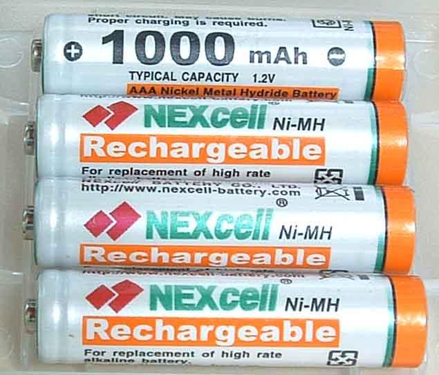 ネクセル単4ニッケル水素電池