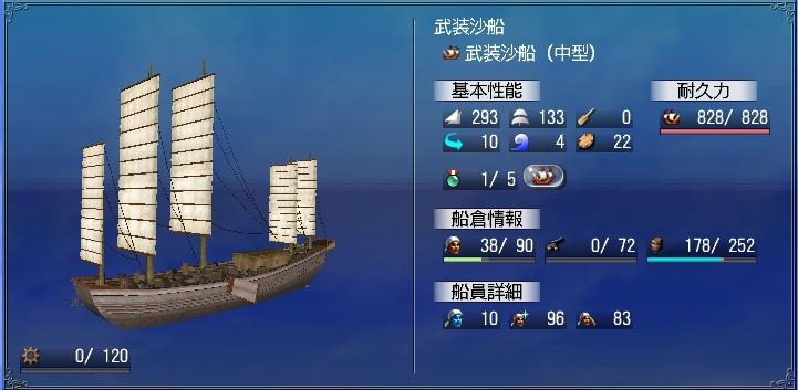 武装沙船鉄張り